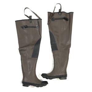 Magellan Outdoors Steel Shank Rubber Hip Boots - 7